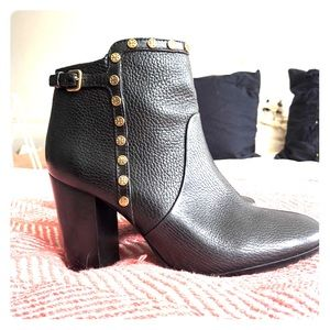Never worn Tory Burch Real Leather Booties